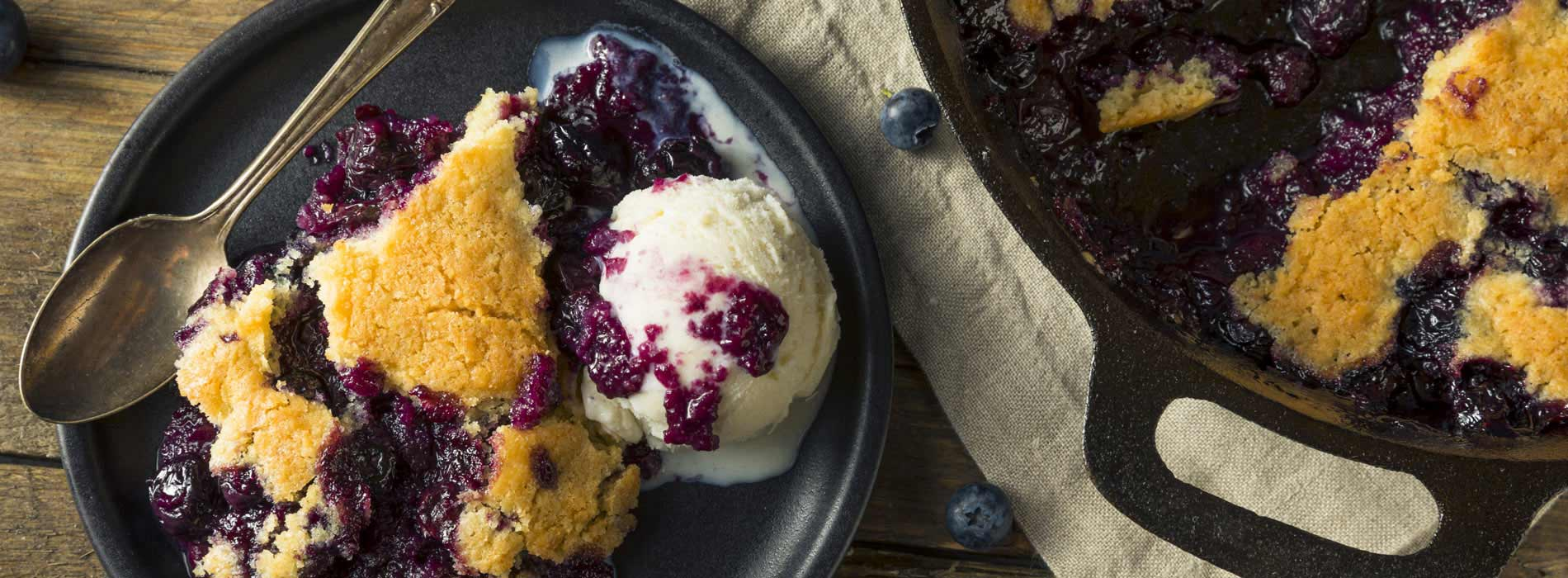 Saskatoon Berries are great in your favourite dessert